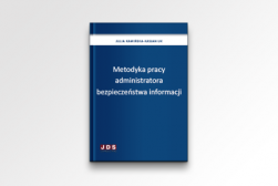 E-book Metodyka pracy administratora bezpieczeństwa informacji